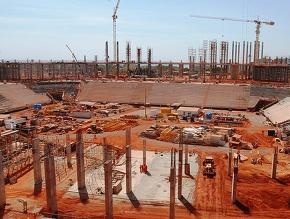 BRASILIENSE JÁ PAGA CONTA DO ESTÁDIO NACIONAL MANÉGARRINCHA